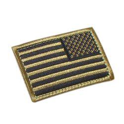 Nášivka vlajka US revers TAN