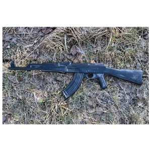 Samopal cvièný AK-47 gumový ÈERNÝ