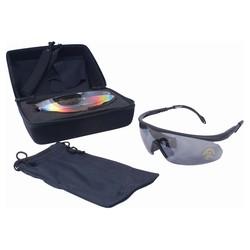 Brýle TAKTICKÉ sada v pouzdøe 4 ks skel
