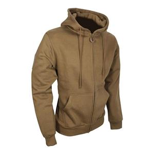 Mikina na zip s kapucí COYOTE