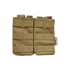Pouzdro na zásobník M4/M16 RELEASE dvojité  COYOTE