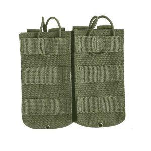 Pouzdro na zásobník M4/M16 RELEASE dvojité  ZELENÉ