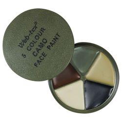 Barvy maskovací 5 odstínù se zrcátkem