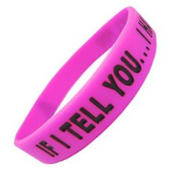 N�ramek IF I TELL YOU elastick� PINK